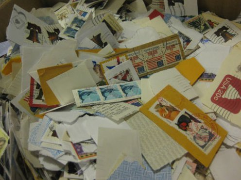 USA stamps mission mixture