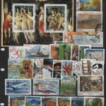 High Quality Used France Stamps Mixture Selection with HV and Souvenir Sheet