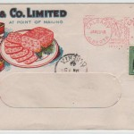Stamp Covers: Canada Advertising Cover for Spork Meat